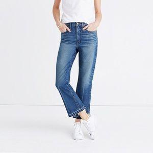 Madewell Retro Crop Flare Bootcut Jeans Callahan
